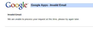Google Account Login Problem