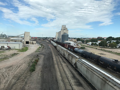 Trains in McCook, Nebraska (pop 8,000)