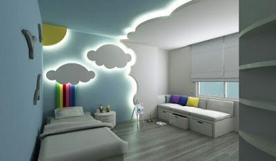 Stylish kids room ceiling designs and ideas 2019