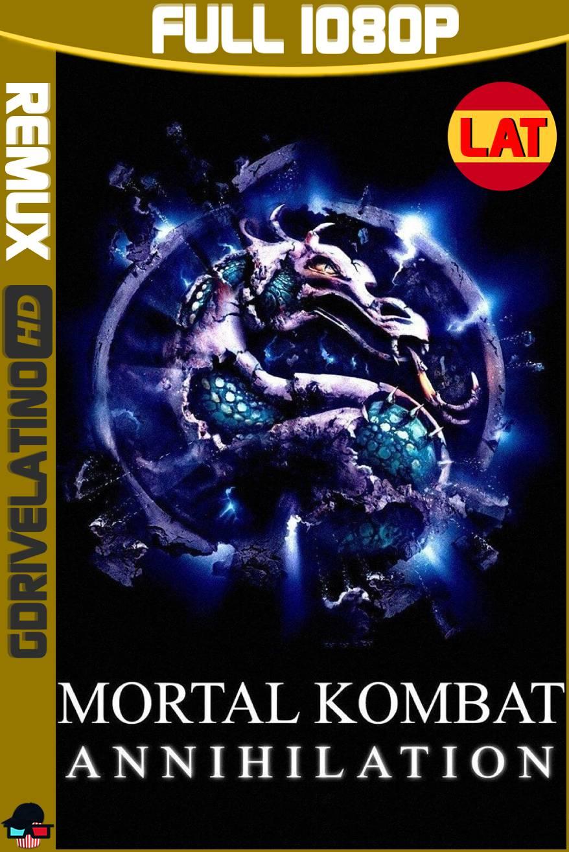 Mortal Kombat: Aniquilación (1997) BDRemux 1080p Latino-Ingles MKV