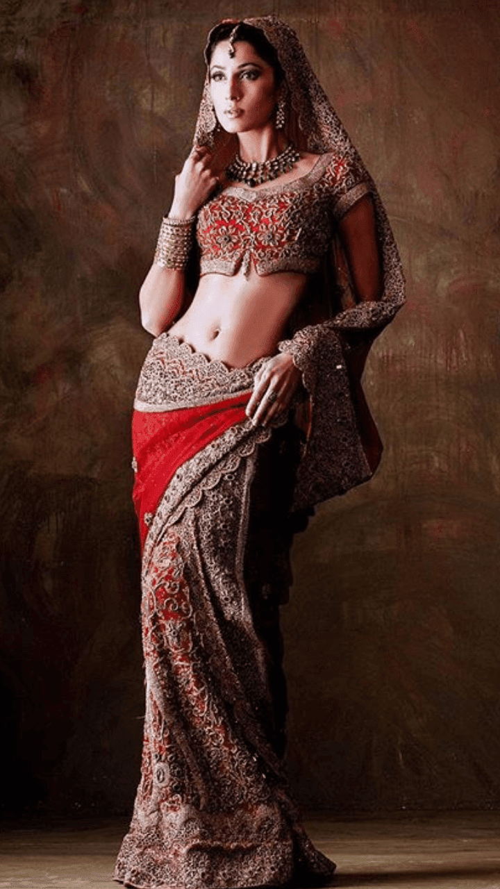 Bridal Sarees by HSY Bridal Collection 2019