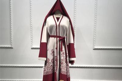 Jual Grosir dan Eceran Baju Syal Merah Dubai
