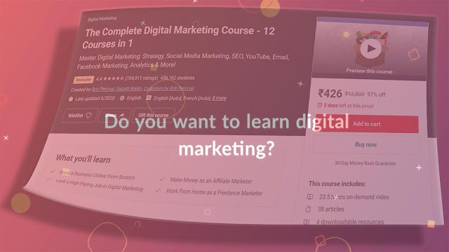 [Download Free] The Complete Digital Marketing Course - 12 Courses in 1 digital marketing training courses