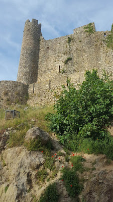 (Almost) Wordless Wednesday - into the castle, Óbidos, Portugal