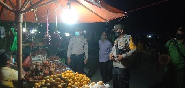 Operasi Yustisi Gabungan Polsek Rambutan -  Satgas Covid-19 Pantau Situasi dan Kegiatan Masyarakat