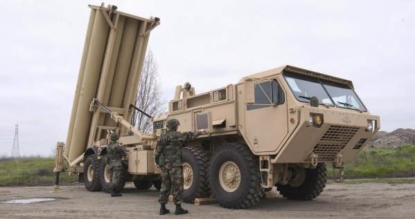 Resultado de imagen para escudo antimisiles THAAD