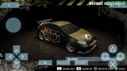 Game PPSSPP Need For Speed Underground Cso