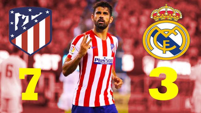 اتلتيكو مدريد يمطر شباك ريال مدريد 7–3 في الكأس الدولية للأبطال