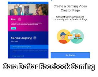 Cara Daftar Facebook Gaming