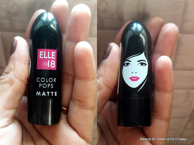 ELLE 18 COLOR POPS MATTE  PINK KISS