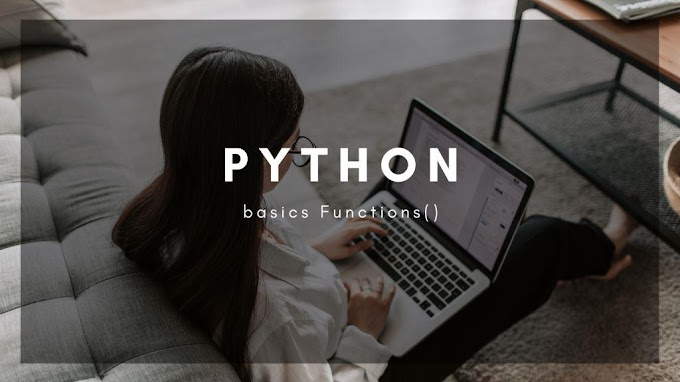 Functions In Python, How To Write Function In Python