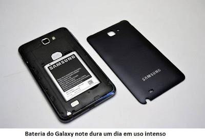 Bateria do Galaxy Note