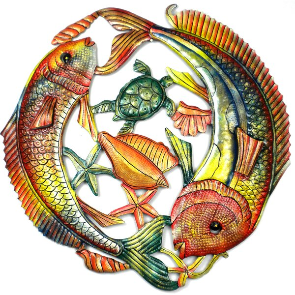 Fish Jumping Wall Decor