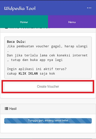 Cara mendapatkan voucher (akun) @wifi.id GRATIS 4
