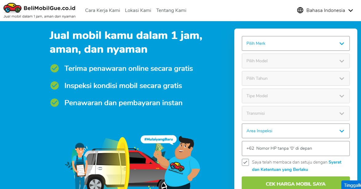 Tips Cara Jual Mobil Over Kredit paling mudah