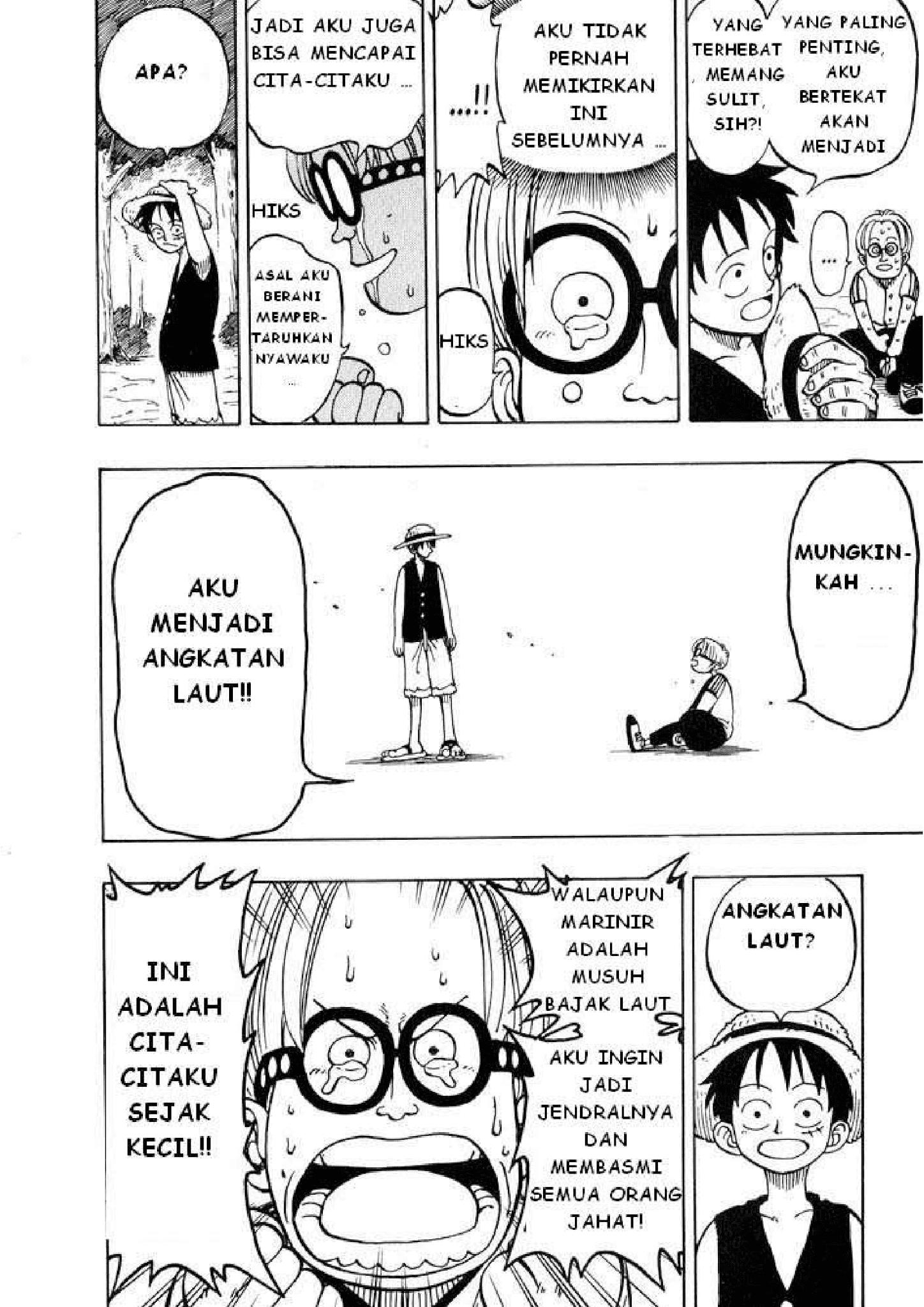 Manga One Piece Chapter 0002 Bahasa Indonesia