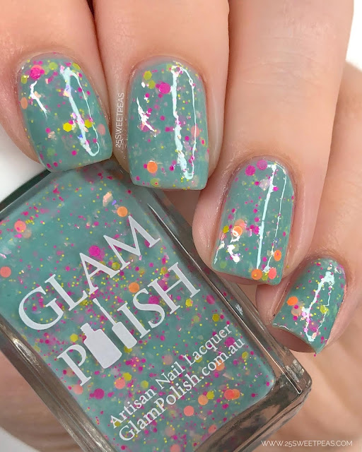 Glam Polish Boys of Summer 25 Sweetpeas