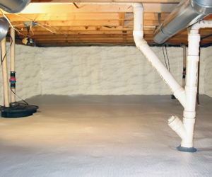 Crawl Space Insulation By The Hayes Company