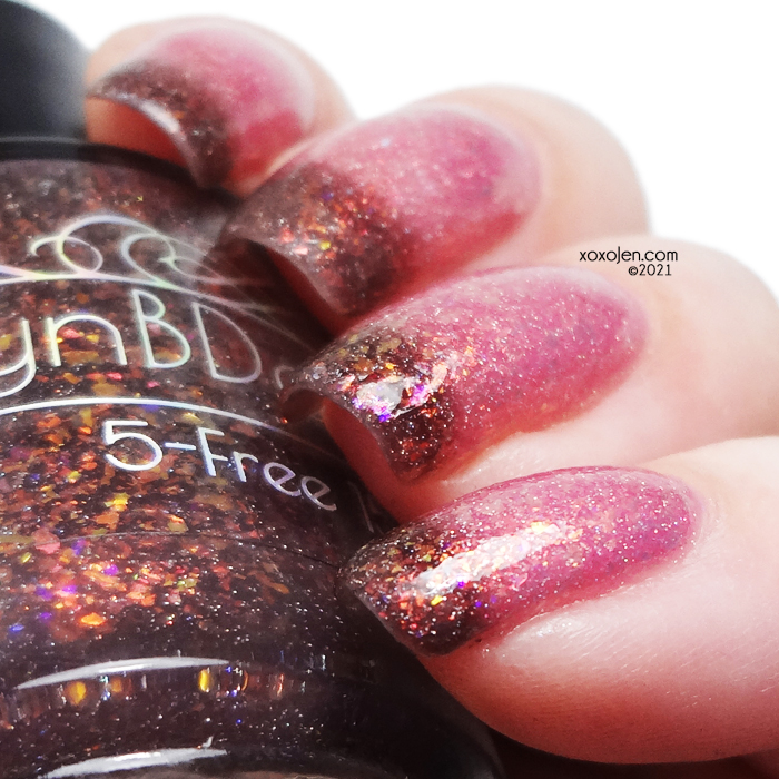 xoxoJen's swatch of LynB Don't Torture Yourself That's My Job