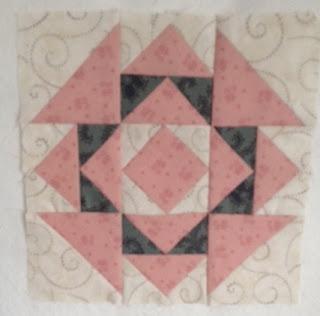 Blok 35 1865 passion sampler quilt