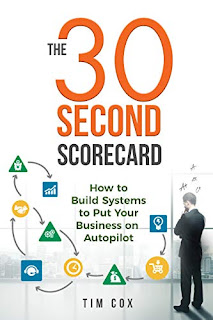 The 30-Second Scorecard: How to Build Systems to Put Your Business on Autopilot book promotion by Tim Cox