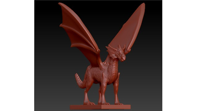 dragon 3d model free download