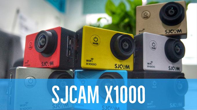 Contoh Video SJCAM X1000 Wifi Sports Camera Murah Berkualitas