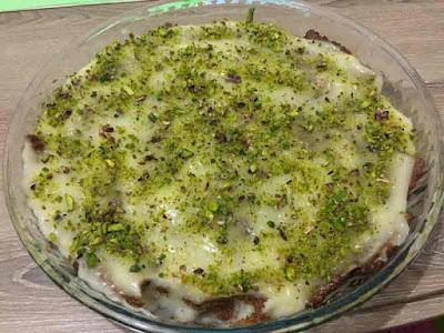 Muhallebili Bisküvili Pasta Tarifi