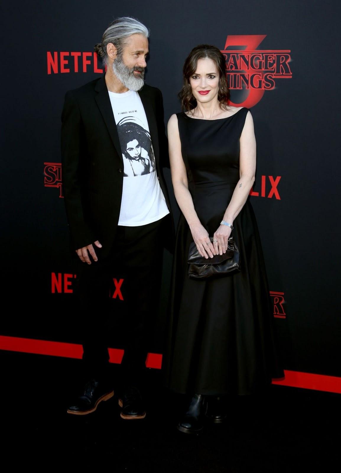 "Winona Ryder – Netflix's ""Stranger Things"" Season 3 Premiere"
