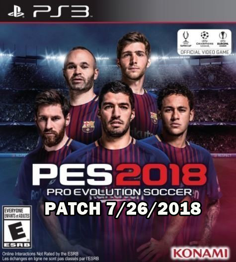 Download PES 2018 World Cup summer Patch PS3 Ps4 Exploit Hack, Apps