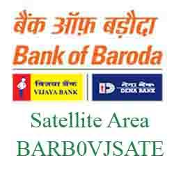 Vijaya Baroda Satellite Area Branch Ahmedabad New IFSC