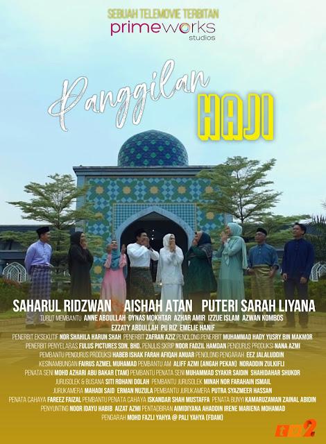 Telefilem Panggilan Haji (TV2), Telemovie Panggilan Haji, TV2, Telefilem Istimewa Sempena Hari Raya Haji, Sinopsis Telefilem Panggilan Haji, Poster Telefilem Panggilan Haji,