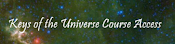 Keys of the Universe Course Site Logo