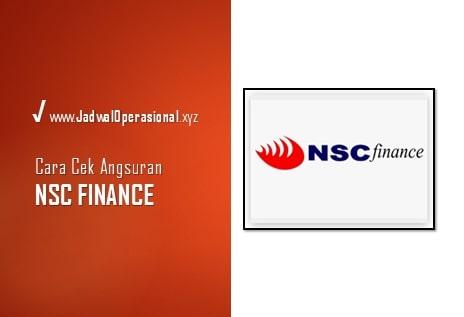 cek angsuran nsc finance