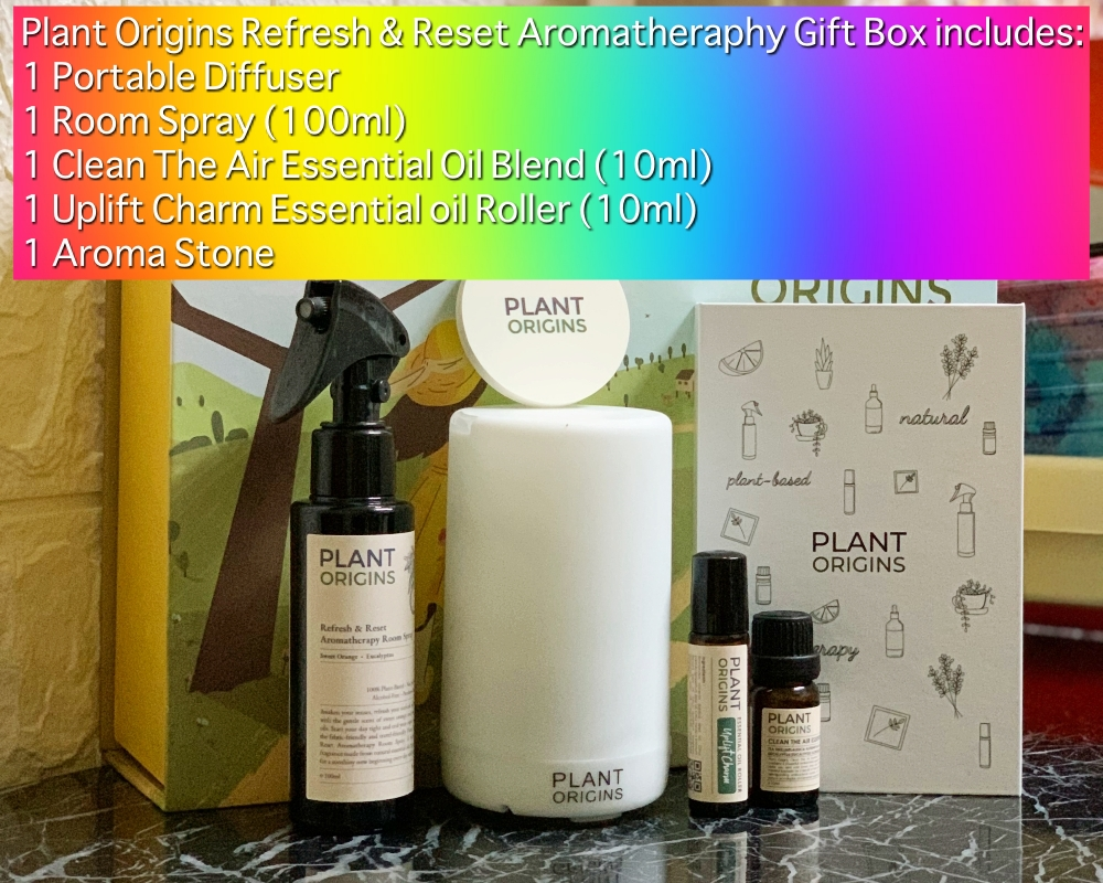 Plant Origins, Plant Origins Holiday Gift Set, Plant Origins Refresh & Reset, Rawlins GLAM, Rawlins Lifestyle, Plant Origins Refresh & Reset Aromatherapy Gift Set, Signature Market, Health by Rawlins