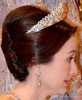 diamond tiara queen zara salim perak malaysia