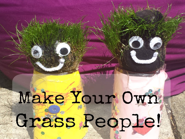 DIY Grass People {Tutorial}
