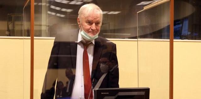 Sang 'Penjagal Bosnia' Ratko Mladic Hadiri Sidang Banding Di Pengadilan Den Haag