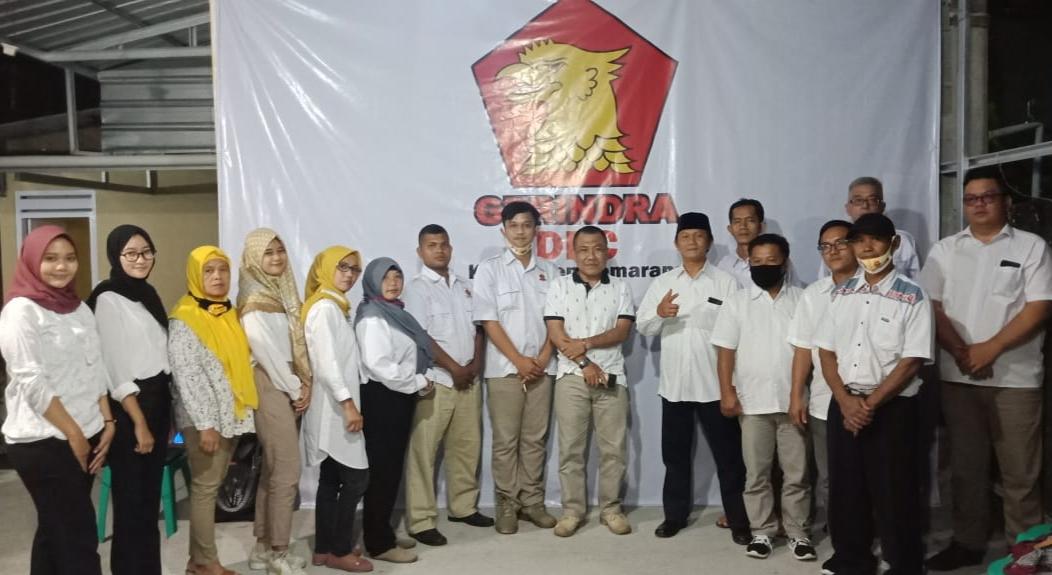 Pengurus PAC Partai Gerindra Ambarawa, Kabupaten Semarang, Jawa Tengah