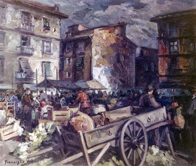 Francisco Val, Paisajistas españoles, Pintor Valenciano, Paisajes de Francisco Val, Pintor Francisco Val, Pilar Val, César Val