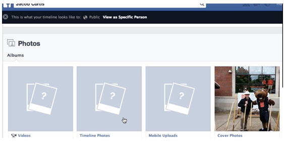 How to Hide or Limit Past Facebook Posts and Make Photo Albums Private