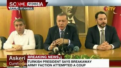 Mengapa Erdogan di Kudeta?