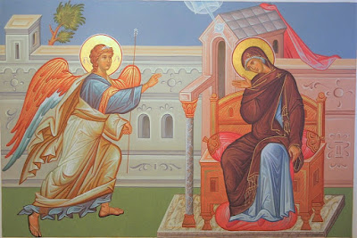 The Annunciation to the Blessed Virgin Mary