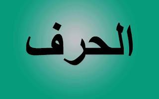 معنى الحرف تعريف الحرف من اقسام الكلام الاسم والفعل والحرف