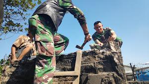 Sektor 21 ; Satgas, Gober Dan Warga Gotong Royong Rapihkan Lokasi Yang Akan Di Bangun TOSS TM-RL