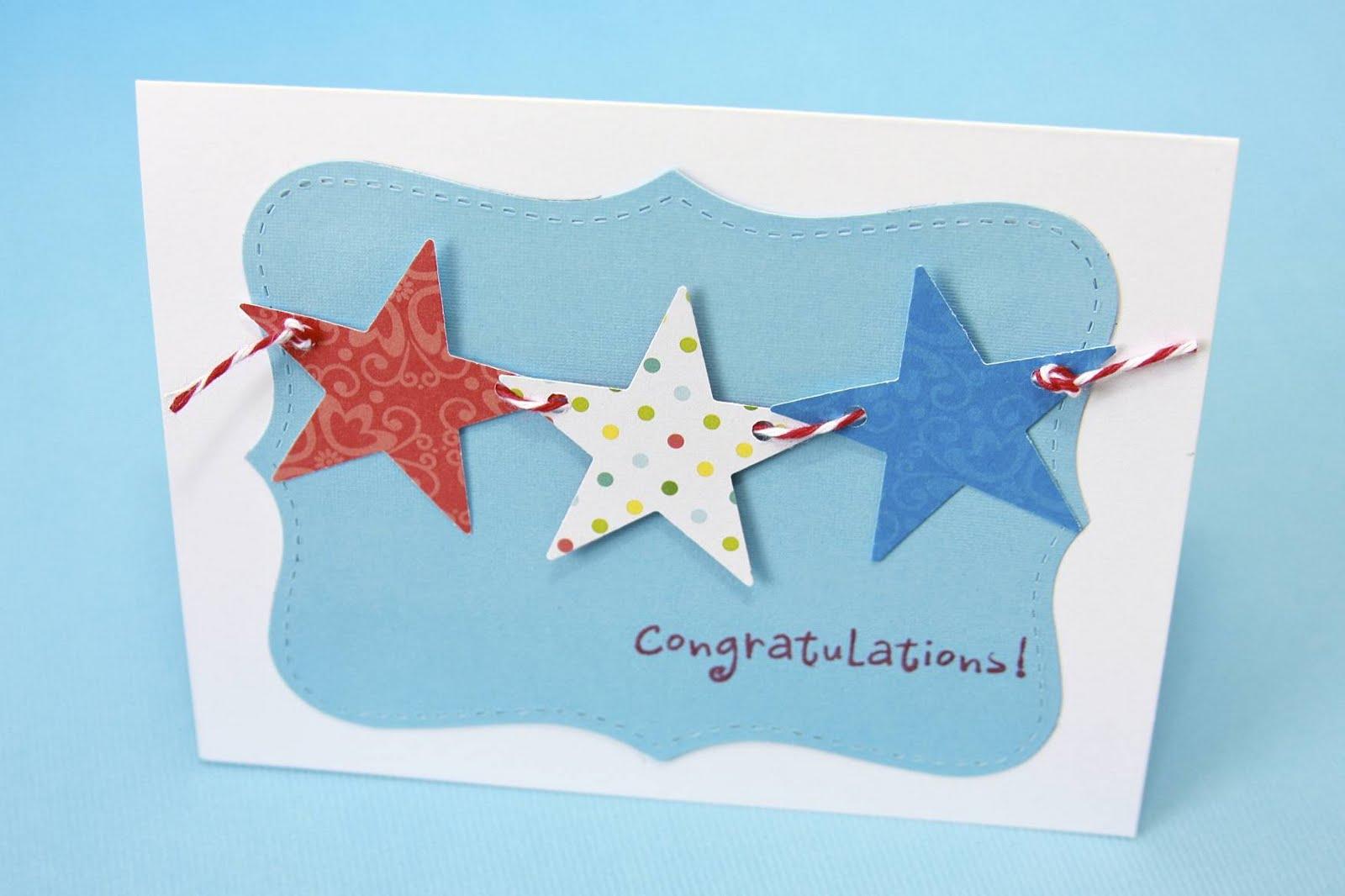 Stars and Baker's Twine Cards | iloveitallwithmonikawright.com
