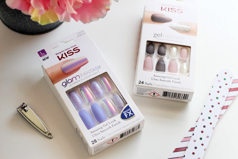 a package of Kiss fake nails