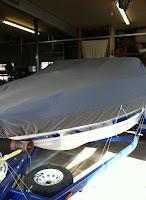 Custom Canvas Boat Covers