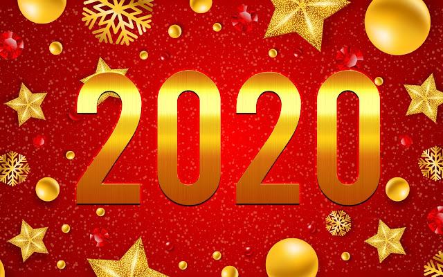 Papel de Parede Feliz Ano Novo 2020