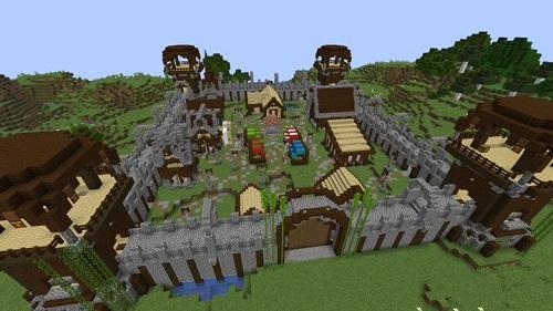 Người chơi có thể can thiệp sâu vào gameplay của Minecraft qua hệ thống các câu lệnh của trò chơi này